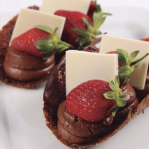 Cake Chocolate Amendo